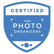certified personal photo organizer logo